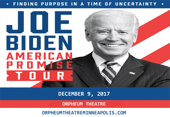 Joe Biden at Orpheum Theatre Minneapolis