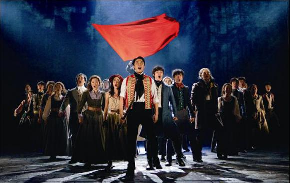 Les Miserables at Orpheum Theatre Minneapolis