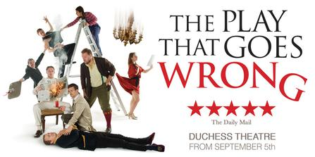 The Play That Goes Wrong  at Orpheum Theatre Minneapolis