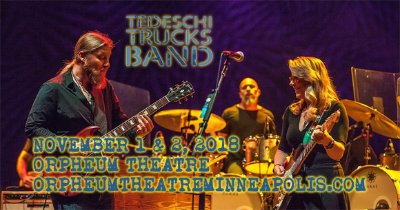 Tedeschi Trucks Band at Orpheum Theatre Minneapolis