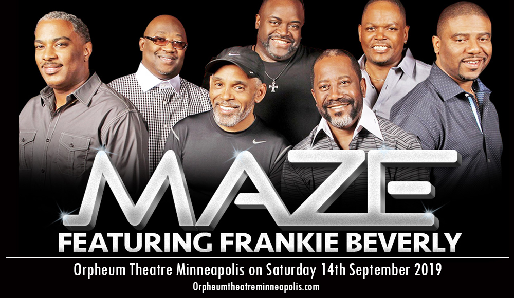 Maze And Frankie Beverly at Orpheum Theatre Minneapolis