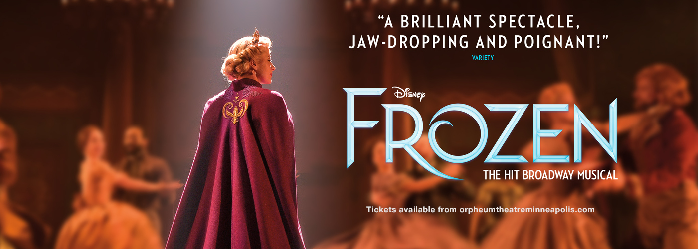 orpheum theatre frozen tickets