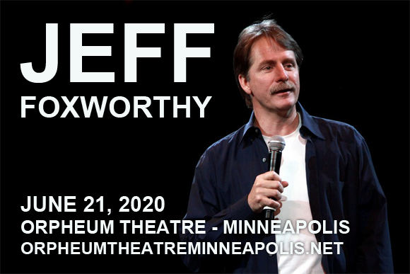 Jeff Foxworthy at Orpheum Theatre Minneapolis
