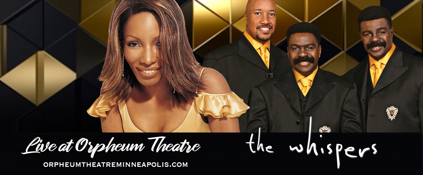 The Whispers, Stephanie Mills & Lenny Williams [POSTPONED] at Orpheum Theatre Minneapolis