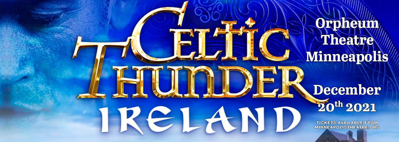 Celtic Thunder: Ireland [CANCELLED] at Orpheum Theatre Minneapolis